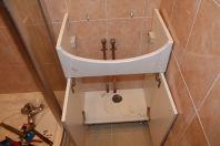 Тумба для ванной с раковиной своими руками