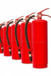 Огнетушитель, противопожарные средства. фото ru.123rf.com