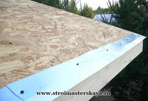 Монтаж металлической карнизной планки (фото)