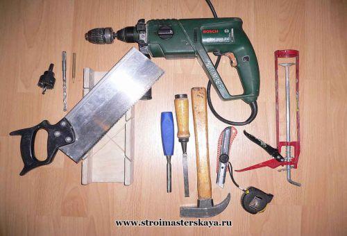 Инструмент для установки дверей своими руками