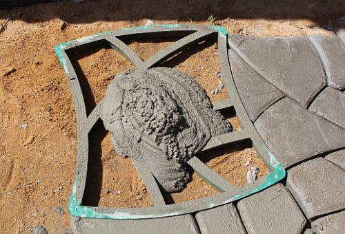 Садовая дорожка своими руками состав бетона 81