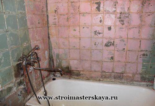 Как класть плитку в ванной комнате своими руками видео